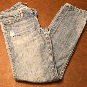 Banana Republic distressed jeans